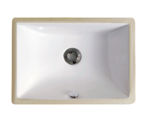 Premier White Rectangle Vanity